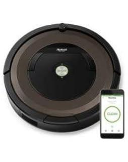 iRobot Roomba 895 - Robot Aspirador Para Mascotas, Succión 5 Veces Superior, Cepillos de Goma Antienredos, Dirt Detect, Suelos Duros y Alfombras, Wifi, Programable por App, Compatible con Alexa, 58 dB: Amazon.es: Hogar