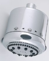 FRESCIA S/HEAD W/1.75 RESTR S139-1.75 SATIN NICKEL