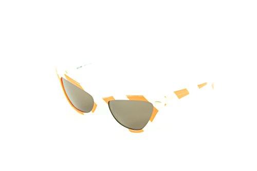 Mujer Sol Gafas para White 04 302S 53 MO Orange de Moschino wTS0qX