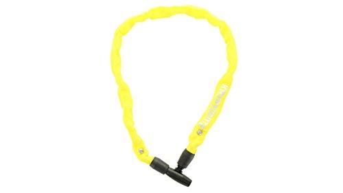 Kryptonite Keeper 465 Key Chain geel fietsslot, 65 cm