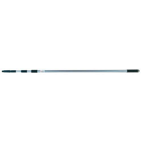 Poste telescópico de aluminio Unger con cono removible y rosca universal, 11 '