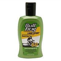 Armor Sunscreen - Bull Frog Water Armor Sport Quik Gel Sunscreen , SPF 50, 5 oz - 2pc