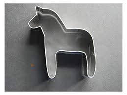 (Scandinavian Sweden Swedish Dala Horse Cookie Cutter #186HOR)