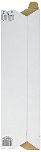 Quality Park Expand-on-Demand Mailing Tubes, 2 x 15 Inches, White, 1 Tube -