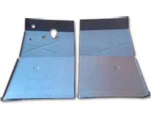1948-51 Jeep Jeepster Front Floor Pans (Pair), used for sale  Delivered anywhere in USA