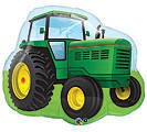 "TRACTOR Shape GREEN Yellow John DEERE 37"" FARM Barn Anima..."
