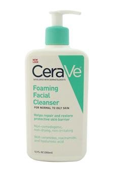 CeraVe Foaming Facial Cleanser for Daily Face Washing