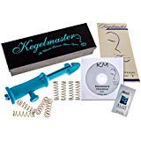 Kegelmaster 2000 Advanced Progressive Kegel Exercise Device for Women | Made in USA, Toxic Free | FDA Cleared Doctor Recommended for Urinary Stress Incontinence and Bladder Control | 4 Extra Springs