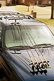 Fishing Rod Transport System :: Magnetic Rod Racks
