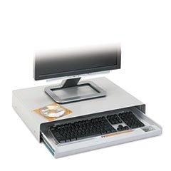 Gray Standard Keyboard - - Standard Desktop Keyboard Drawer, 20-5/8w x 10d, Light Gray