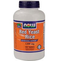 Red Yeast Rice Extract, 1200 mg, 120 Tabs by Now Foods (Pack of 2) by NOW Foods