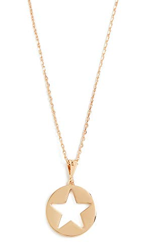 Mini Star Gold Pendant Necklace - Kate Spade New York Women's Star Mini Pendant Necklace, Gold, One Size