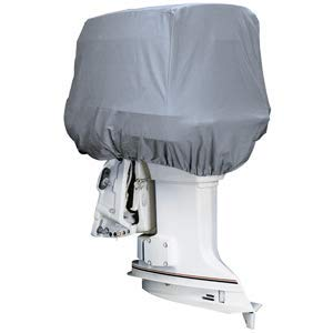 (attwood Road Ready Cotton Heavy-Duty Canvas Cover f/Outboard Motor Hood 25-50HP)