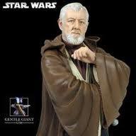 (Star Wars Obi-Wan Kenobi A New Hope Mini Bust by Gentle Giant)