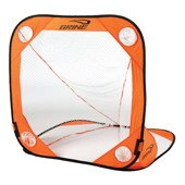 Brine Lacrosse Back Yard Wars Goal (4 x 4-Feet, Orange) by Brine