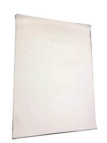 Elegance Collection Super Soft Plush Rug Area Rug Beautiful Home Decor Rug (5X7, White) ()