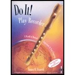 Do It! Play Recorder, James O. Froseth, 1579991718