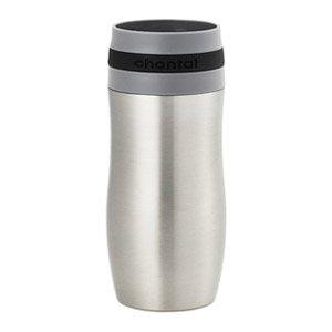 Chantal Single Serve Stainless Steel Easy Travel Mug, 10-Ounce, Black
