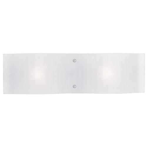 - Livex Lighting 1432-05 Luna 2-Light Bath Light, Chrome