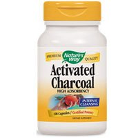 Natures-Way-Activated-Charcoal-High-Adsorbency-Internal-Cleansing-100-Capsules