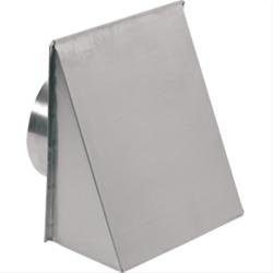 """Broan-Nutone 643FA Aluminum Fresh Air Inlet Wall Cap for 8"""" Round Duct"""