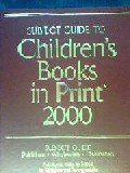 Subject Guide to Children's Books In Print, 2000, , 0835242382