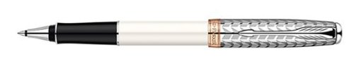 Parker Sonnet Metal & Pearl Lacquer Rollerball Pen