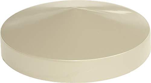 couleur sable Lot de 10 Capuchon poteau rond en poly/éthyl/ène diam/ètre 140 mm