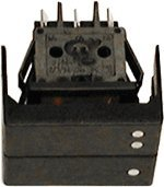Delonghi 511741 Large Double Rocker (Large Switch)