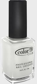 Color Club Nail Polish, White, French Tip, .05 Ounce (Polish White)