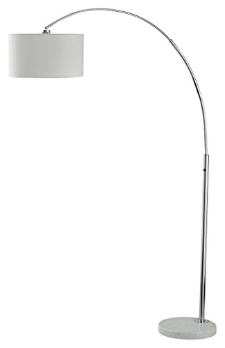 Signature Design by Ashley L725079 Areclia Arc Lamp, Chrome Finish by Signature Design by Ashley