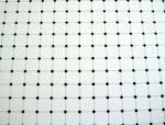 Dollhouse Miniature White & Black Diamond Tile Sheet