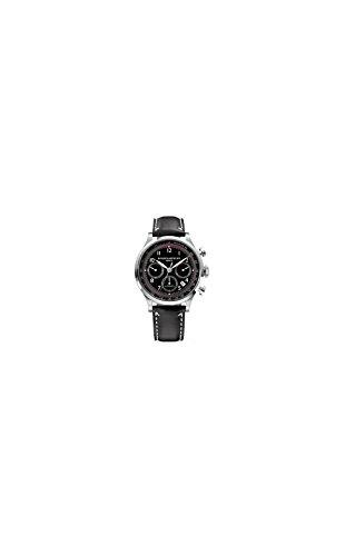 Baume-Mercier-Mens-10001-Capeland-Chronograph-Black-Chronograph-Dial-Watch