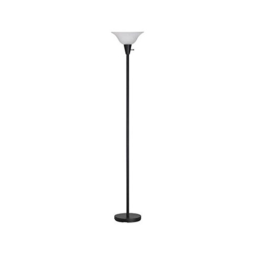 FLOOR LAMP TORCHRE BLACK by LIVING ACCENTS MfrPartNo 17025-001