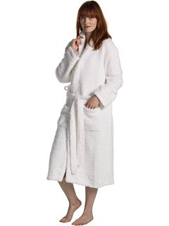 Barefoot Dreams Cozy Chic Robes - Color: White, Size: 3