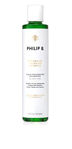 PHILIP B Volumizing and Clarifying Shampoo, Peppermint/Avocado 7.4 Fl Oz