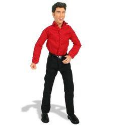 Elvis Presley Talking Action Figure: Elvis Dressed in a Red Shirt and Black Pants