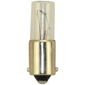 Replacement for Miniature LAMP 120MB Light Bulb 10 Pack ()
