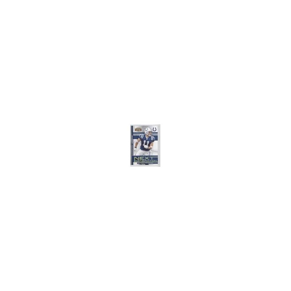 Anthony Gonzalez #7/100 (Football Card) 2008 Donruss Gridiron Gear Next Generation Gold #NG 36