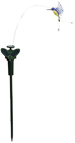 Solar Estaca para jardín Fluttering, insectos Solar o funciona con pilas (Colibrí)