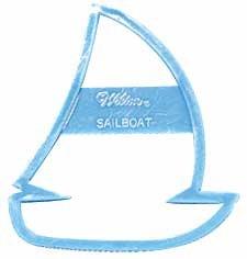 - WILTON SAILBOAT COOKIE CUTTER OR STENCIL