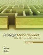 Strategic Management: Concepts : Competitiveness and Globalization, Second Canadian