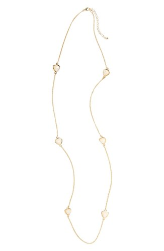 Nordstrom Long Strand (Nordstrom BP Layering Beaded Long Station Necklace Ivory/Gold)