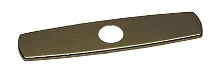 Rohl COP10EB Single Hole Kitchen Faucet Escutcheon, 10'', English Bronze by Rohl