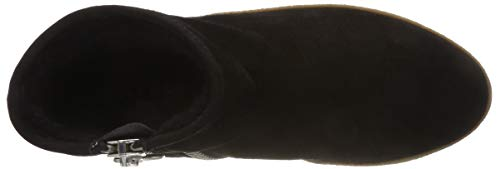 black Suede Femme 017 Wool 017 Nora Bottines Pavement Noir XwSgqAO