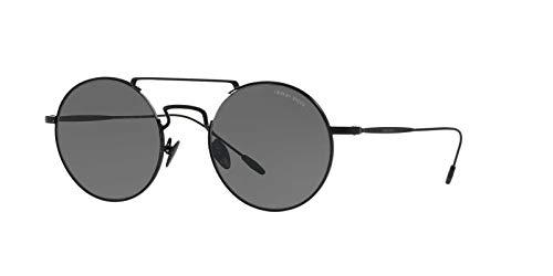 Black 300187 para 0AR6072 Sol Hombre Gafas Negro Matte de Grey Armani 51 Xxzq5X