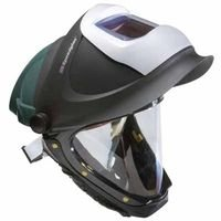 3M Hard Hat, Welding Safety L-705SG, with Welding Shield and Wide-view Faceshield