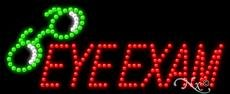Eye Exams - Ultra Bright LED Sign - 11'' x 27'' ()