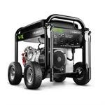 Briggs & Stratton 30557 VOX 6500-Watt Gas Powered Portable Generator with Honda GX390 OHV 390cc Engine and Never Go Flat Wheels