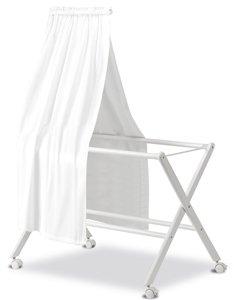Dosel con organza color blanco Pirulos 84100001